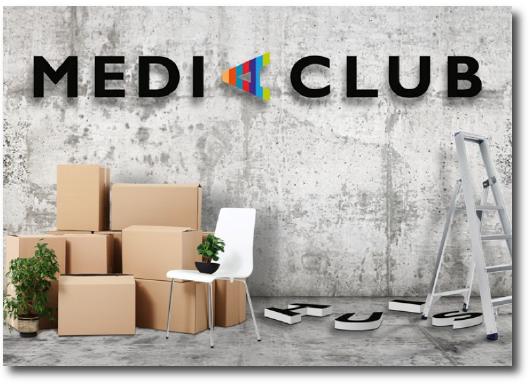 verhuisbericht Mediaclub
